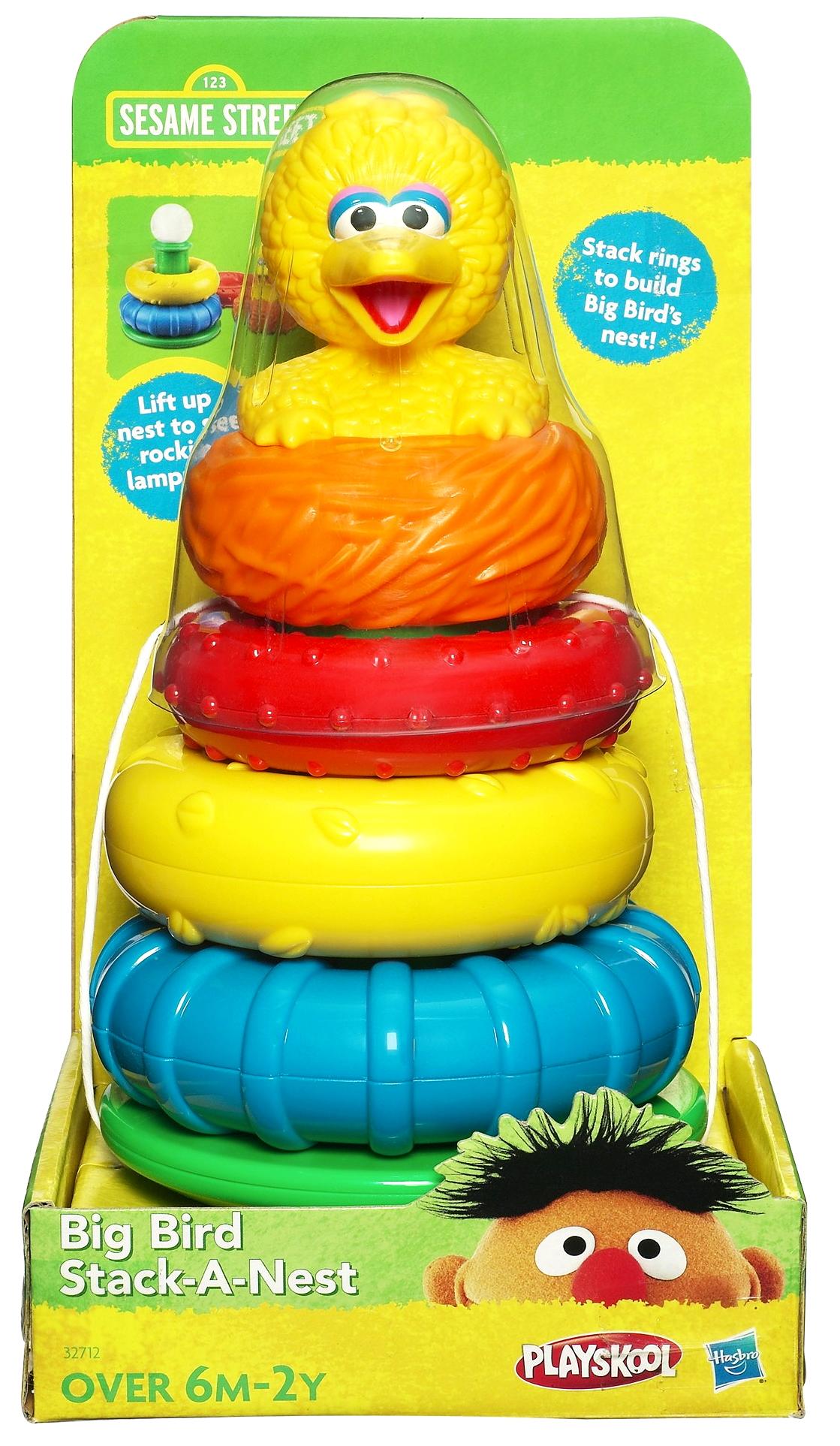 Big Bird Stack-a-Nest