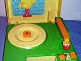 Sesame Street record player (Fisher-Price)