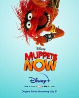 Muppets Now poster Animal portrait