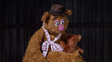 Fozzie teddy bear MTM