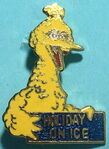 Holiday on ice pin big bird