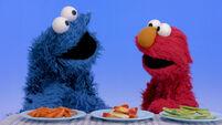 My Elmo: Healthy Food