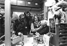 Bonnie Erickson and Jim in the workshop
