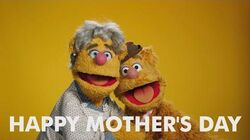 Happy Mother's Day from Fozzie Bear and Ma Bear