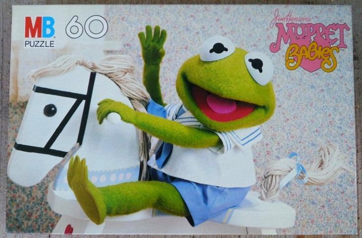 Muppet Babies puzzles (Milton Bradley)