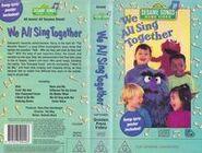 We All Sing Together Australian Golden Press Video VHS