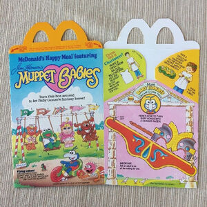 Muppet Babies Happy Meal box 03a