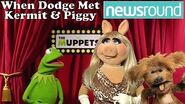 Newsround - Dodge the Dog meets The Muppets at the Muppets 2012 UK Premiere