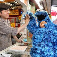 Japan cookie monster market 2