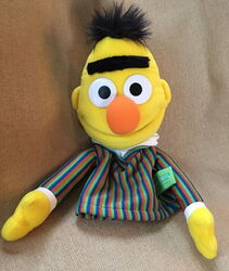 Fisher-price 2004 collectible hand puppet bert