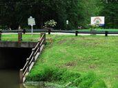 Leland bridge signs