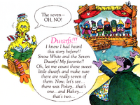 Seven Dwarves Book of Fairy Tales