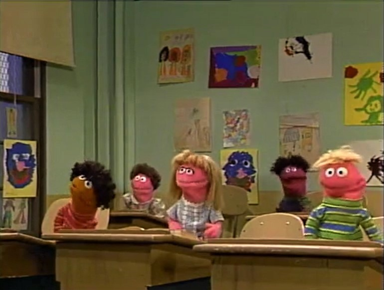 Muppets Rhyme in School