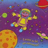 McDonalds astronaut Prairie Dawn