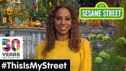 Sesame Street Memory Holly Robinson Peete ThisIsMyStreet