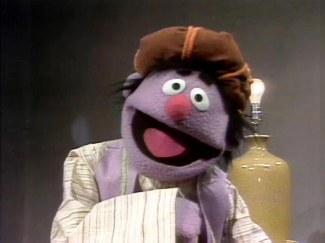 Sesame Street storybook characters