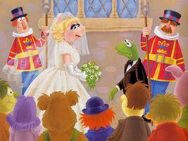 Piggy wedding Kermit's Double Trouble