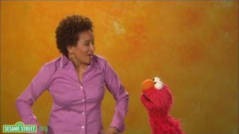 Sesame Street Wanda Sykes-Elmo Says