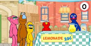 Lemonade vendor Grover