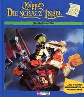 Muppets-DieSchatzinsel-DasBuchZumFilm-MitSammelkarten-(EgmontSchneiderbuch-MichaelCzernich-32Seiten-1996)