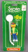 Fisher-price stick puppet scooter 1