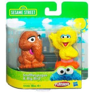 HasbroPlayskool-SesameStreet-2Pack-Snuffleupagus&BigBird