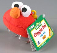 Tyco giggle pal clip on elmo