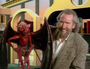 Jim with devil Monster Maker episode.jpg