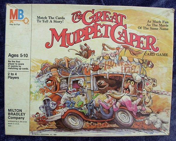 The Great Muppet Caper Card Game