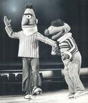 Bert ernie skating