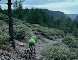 Kermit bike ford commercial