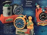 Sesame Street alarm clocks (Bradley Time)