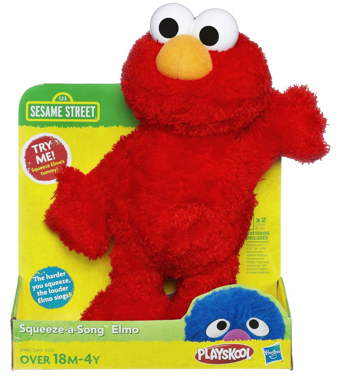 Squeeze-a-Song Elmo