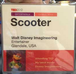 Scooter-TED-badge