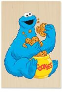 Stampabilities cookie monster