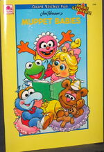1991 mbabies sticker fun