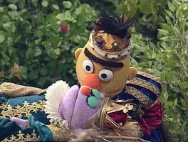 Bert kiss Sleeping Beauty