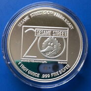 Cookie silver coin 3