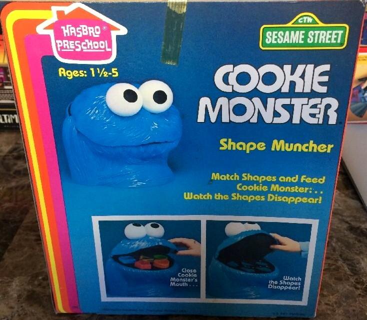 Cookie Monster Shape Muncher