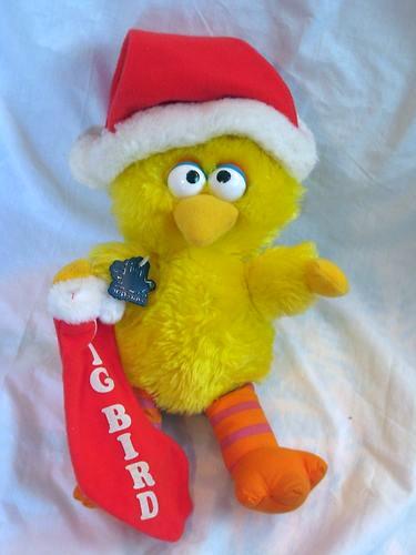 Sesame Street Christmas plush (Applause)