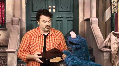 Cookie Monster and Xbox 360