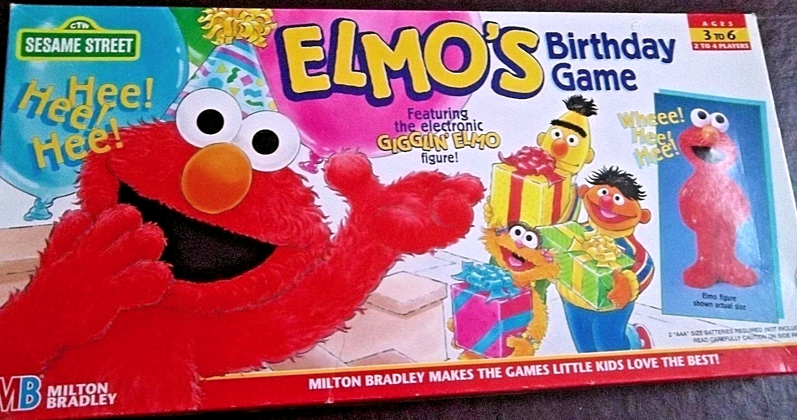 Elmo's Birthday Game