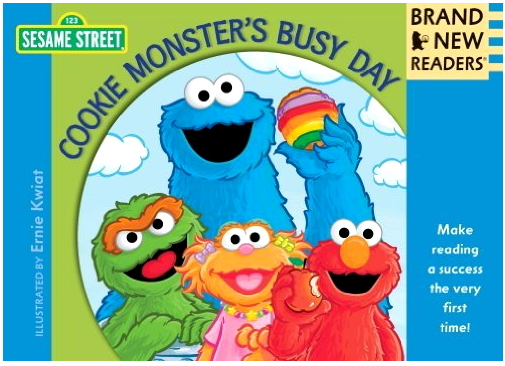 Cookie Monster's Busy Day