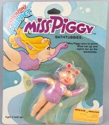 Tomy piggy swimming 1