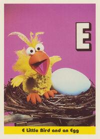 Sesamecard 025 Little Bird egg