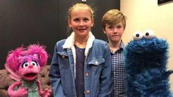 Our interview with the Cookie Monster and Abby Cadabby