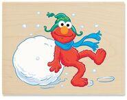 Stampabilities winter fun for elmo