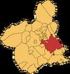 Municipio de Murcia en la Región de Murcia