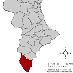 Vega Baja der Segura