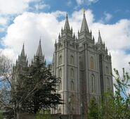 Slc mormon tempel